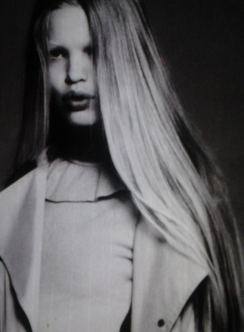 """Daphne Groeneveld in """"Rive Gauche et libre"""", photographed by Mert & Marcus for Vogue Paris September 2010."""