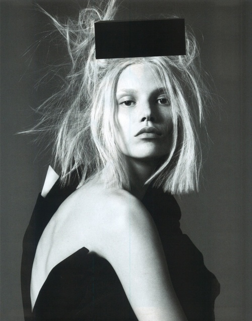 Suvi Koponen by Mert Marcus for Vogue Paris March 2013