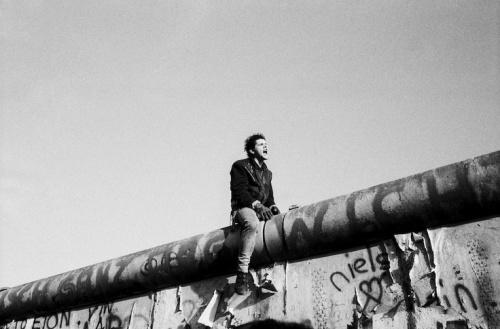 Berlin, Nov 11 1989. Photography by Raymond Depardon.