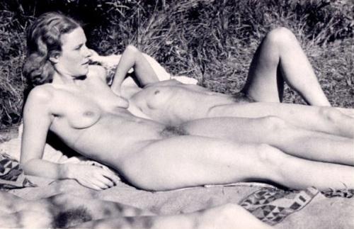 Miryam Blanc, Nudo femminile, Monte Verità (Ascona), anni '40